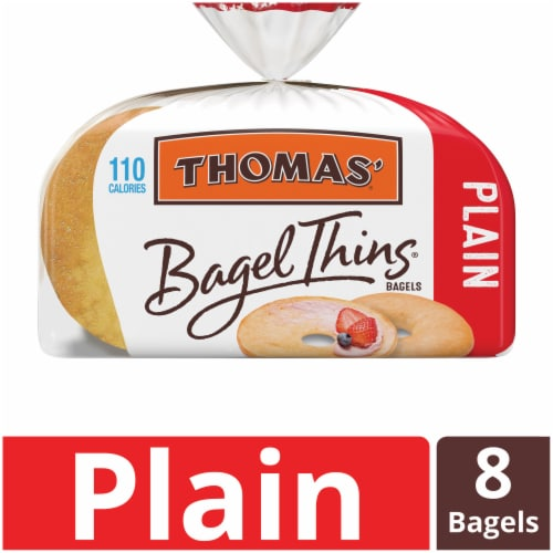 Thomas' Plain Bagel Thins Perspective: front
