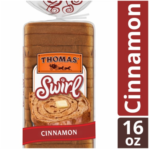 Thomas' Swirl Cinnamon Bread Perspective: front