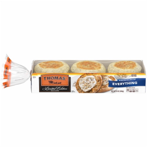 Thomas Limited Edition Everything English Muffins Perspective: front