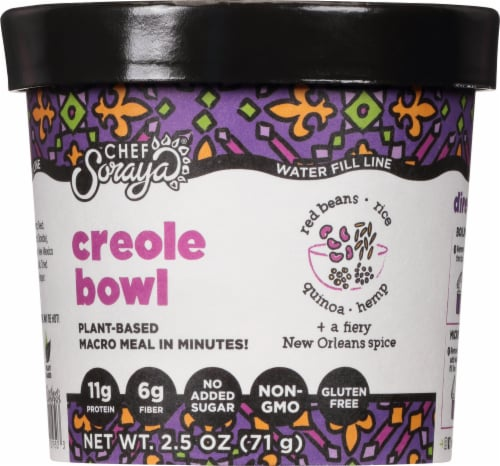 Chef Soraya Eat a Bowl Creole Red Beans & Rice Perspective: front