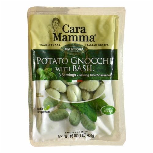 Cara Mamma Potato Gnocchi with Basil Perspective: front