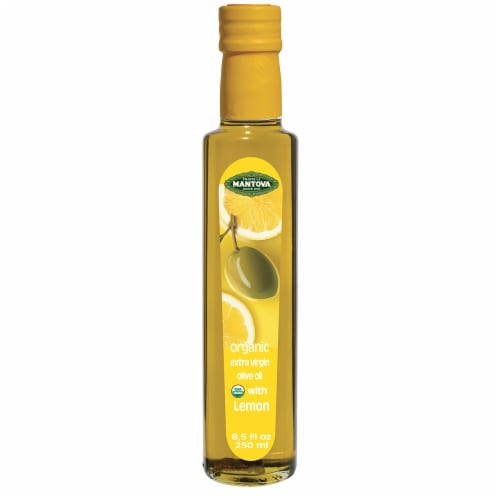 Mantova Organic Extra Virgin Olive Oil Perspective: front