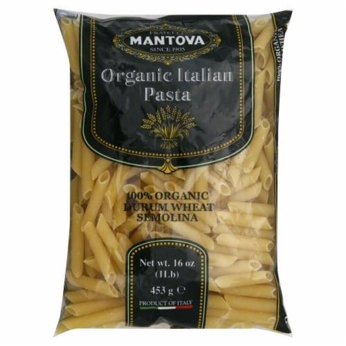 Fratelli Mantova Fu Vincenzo Penne Rigate Organic Italian Pasta Perspective: front