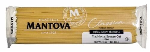 Fratelli Mantova Fu Vincenzo Traditional Bronze Cut Spaghetti Pasta Perspective: front