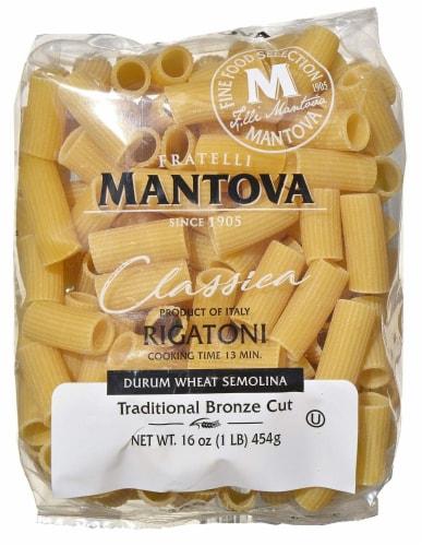 Fratelli Mantova Fu Vincenzo Traditional Bronze Cut Rigatoni Pasta Perspective: front