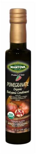 Mantova Organic Pomegranate Balsamic Condiment Perspective: front