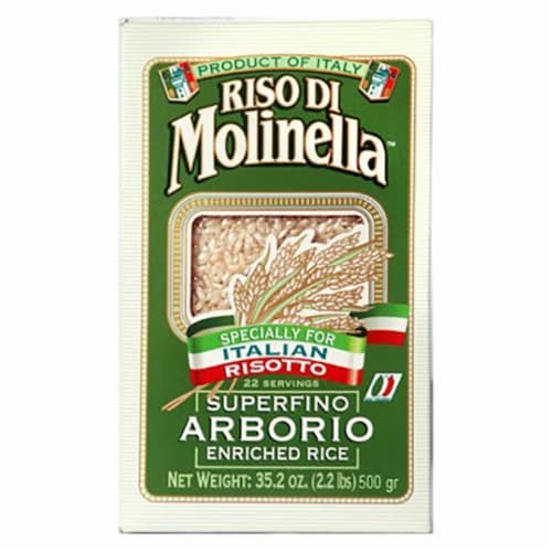 Italian Arborio Rice 2.2 lb (Pack of 3) Perspective: front