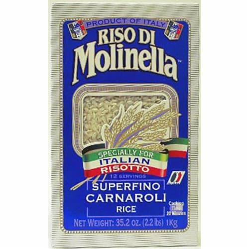 Italian Carnaroli Rice 2.2 lb (Pack of 3) Perspective: front
