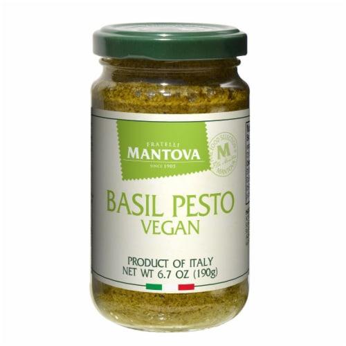 Italian Vegan Basil Pesto 6.5 oz (Pack of 3) Perspective: front
