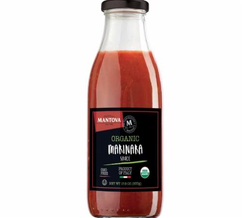Italian Organic Marinara Sauce 17.6 oz (Pack of 3) Perspective: front