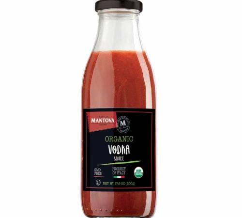 Italian Organic Tomato Vodka Sauce 17.6 oz (Pack of 3) Perspective: front