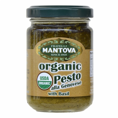 Organic Pesto Genovese 4.6 oz (Pack of 3) Perspective: front