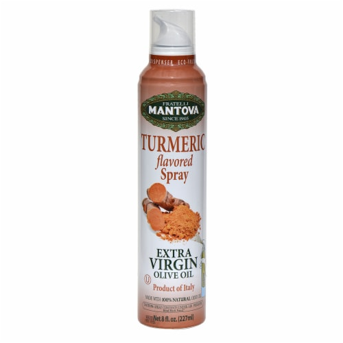 Natural Turmeric Extra Virgin Olive oil Spray (Pack of 2) Perspective: front