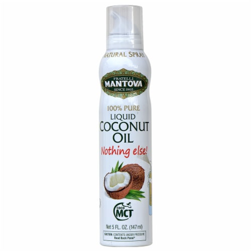 100% MCT Coconut Oil Spray 5 oz (Pack of 3) Perspective: front