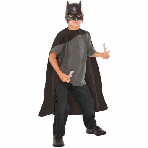 Imagine 275498 Batman Cape, Mask & Batarangs Set - One Size Perspective: front
