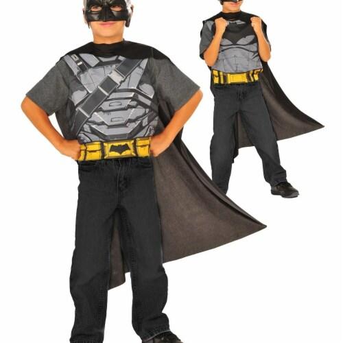 Imagine 275493 Batman v Superman Reversible Costume Set, One Size Perspective: front