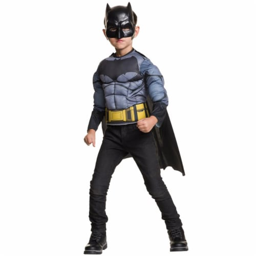 Imagine 275494 Batman Deluxe Muscle Chest Shirt Box Set, One Size Perspective: front