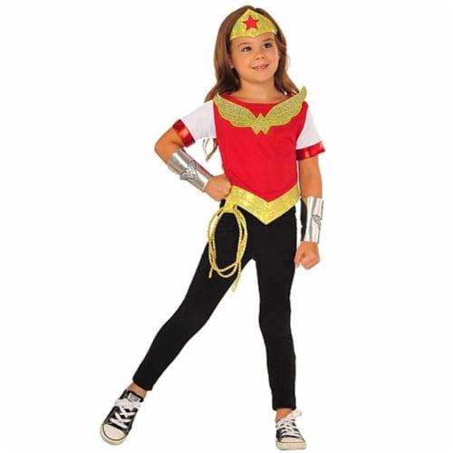 Imagine 277772 DC Superhero Girls Wonder Woman Dress Up Set, Small Perspective: front