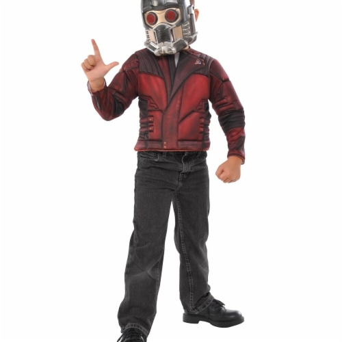 Imagine 274395 Guardians of the Galaxy Star Lord Child Muscle Chest Shirt Set Perspective: front