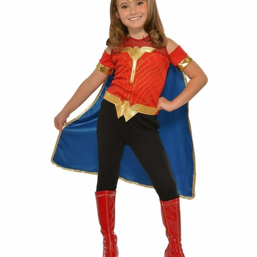 Imagine 277773 Child Wonder Woman Costume Top, One Size Perspective: front