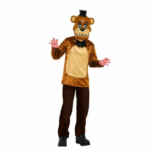 BuySeasons 401789 Five Nights at Freddys Deluxe Freddy Kids Costume Set, Small Perspective: front