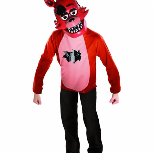 BuySeasons 401790 Five Nights at Freddys Deluxe Foxy Kids Costume Set, Small Perspective: front