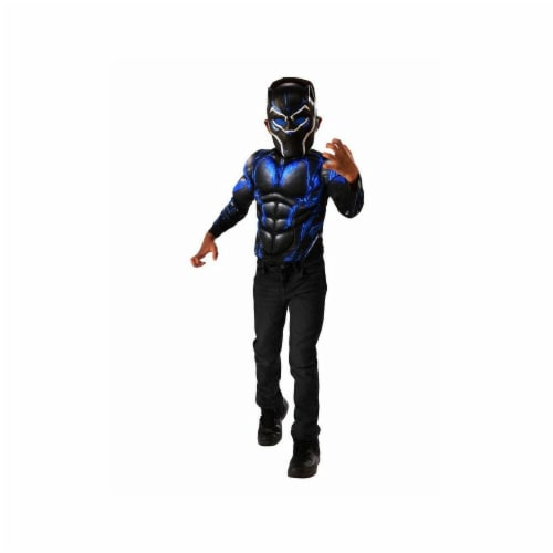 Imagine 281065 Black Panther Battle Blue MC Shirt Set, Medium Perspective: front