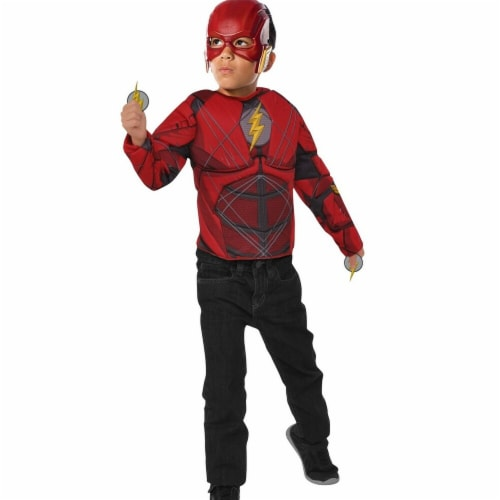 Imagine 281082 The Flash Set with Flip N Reveal Lightning Bolts, One Size Perspective: front