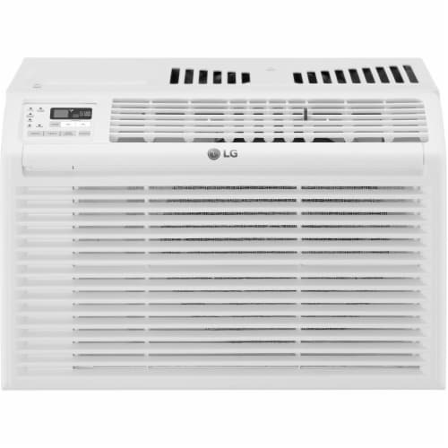 LG 6000 BTU 115V Window Air Conditioner with Remote Control Perspective: front