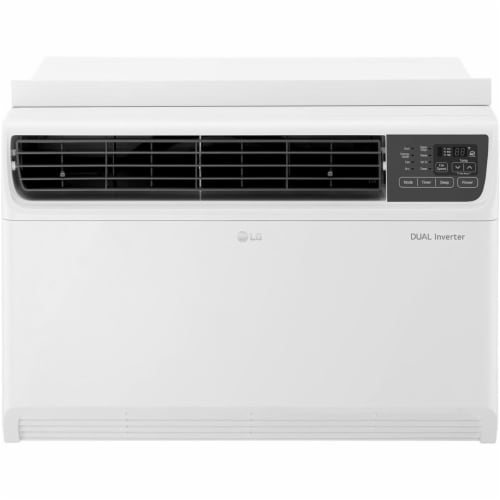 LG 22000 BTU 230V Dual Inverter Window Air Conditioner with Wi-Fi Control Perspective: front
