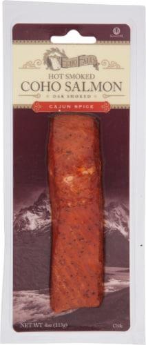 Echo Falls Cajun Smoked Salmon Perspective: front