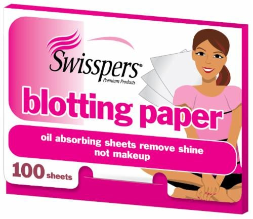 Swisspers Blotting Papers Perspective: front