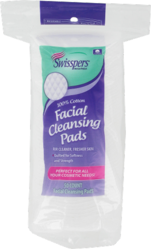 Swisspers Multicare Facial Cleansing Pads Perspective: front