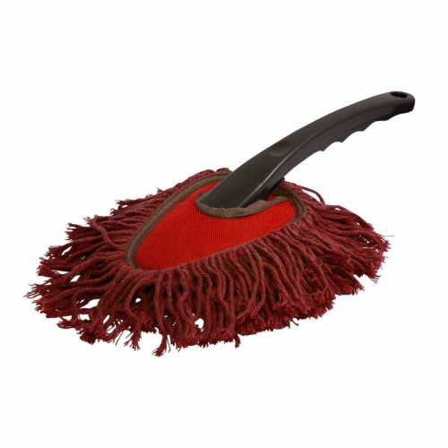Carrand Dash Duster - Black/Red Perspective: front