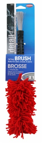 Carrand 2-in1 Detail Brush Perspective: front