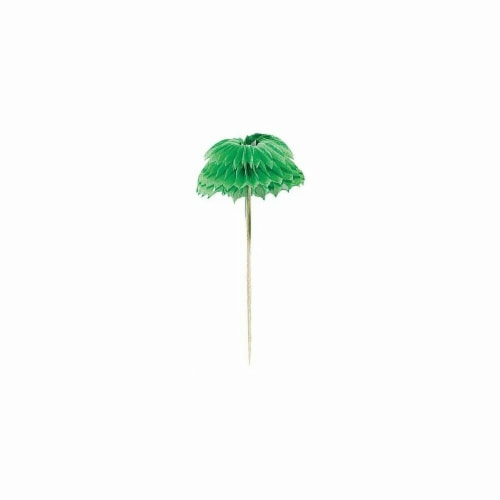 Amscan 401200 Palm Tree Honeycomb Picks - Pack of 144 Perspective: front