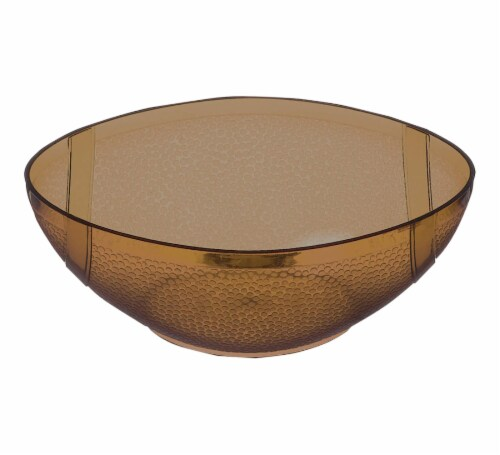 Amscan Football Plastic Bowl Perspective: front
