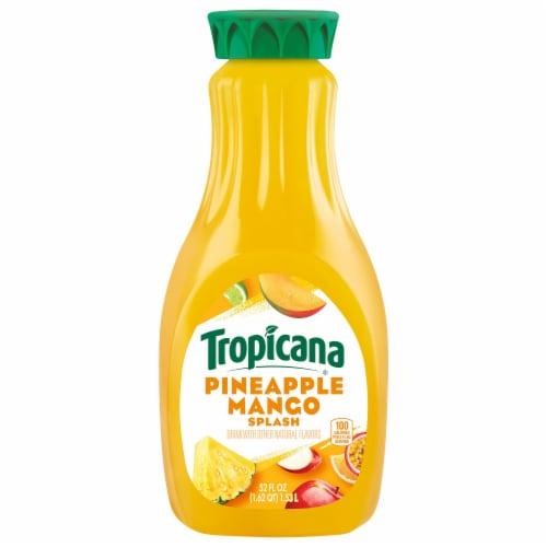 Tropicana Pineapple Mango Splash Juice Drink Perspective: front