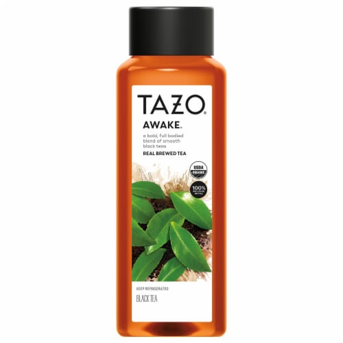 Tazo Iced Tea Awake Black Tea Bottle Perspective: front