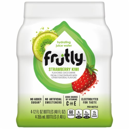 Frutly Strawberry Kiwi Hydrating Juice Water Perspective: front