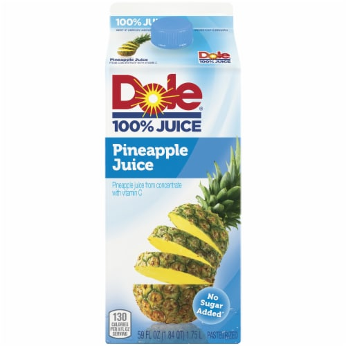Dole Pineapple Juice Perspective: front