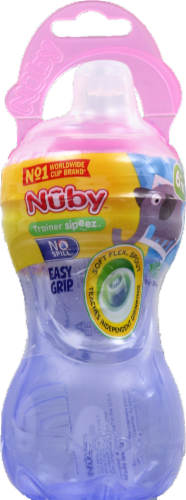 Nuby Easy Grip Squeeze Bottle Perspective: front
