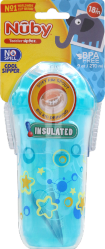 Nuby Insulated Toddler Sipper Cup Perspective: front