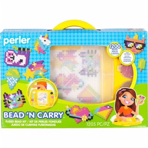 Perler™ Bead 'N Carry Fused Bead Kit Perspective: front
