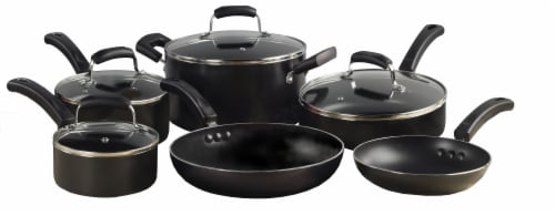 Tabletops Unlimited Basic Essentials Non-Stick Aluminum Cookware Set Perspective: front