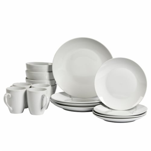 Tabletops Unlimited Round Dinnerware Set - Adams Perspective: front