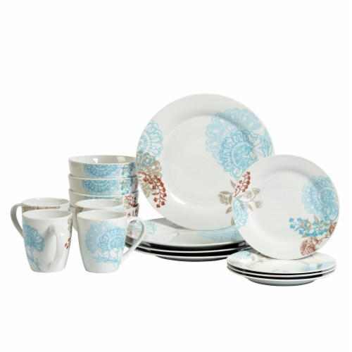 Tabletops Unlimited Round Dinnerware Set - Emma Perspective: front