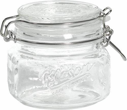 Mason Craft & More Glass Pantry Jar - Transparent Perspective: front