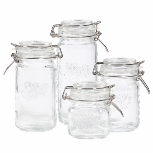 Mason Craft & More Mini Pantry Jars - Clear Perspective: front