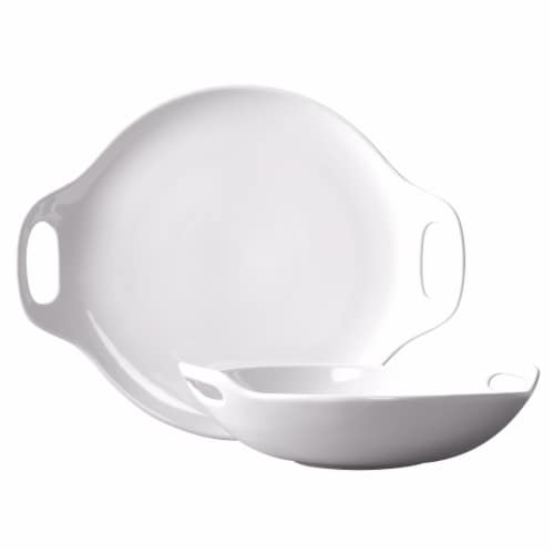 Tabletops Unlimited Pasta Serving Bowls - White Perspective: front